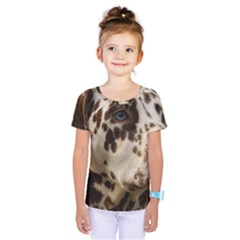 Dalmatian Liver Kids  One Piece Tee