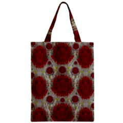 Paint On Water Falls,in Peace And Calm Zipper Classic Tote Bag