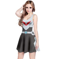 Fire Guardian Sleeveless Dress