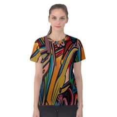 Vivid Colours Women s Cotton Tee