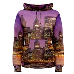 City Night Women s Pullover Hoodie