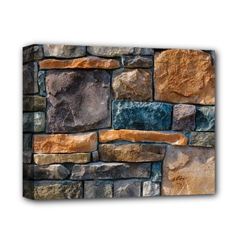Brick Wall Pattern Deluxe Canvas 14  x 11