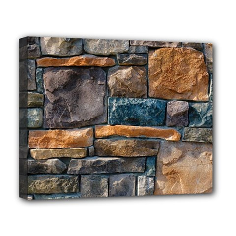 Brick Wall Pattern Deluxe Canvas 20  x 16