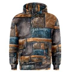 Brick Wall Pattern Men s Pullover Hoodie