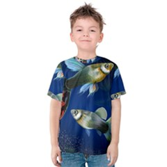 Marine Fishes Kids  Cotton Tee