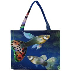 Marine Fishes Mini Tote Bag