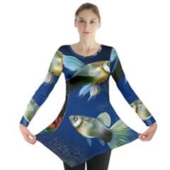 Marine Fishes Long Sleeve Tunic