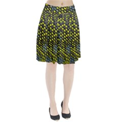 Lizard Animal Skin Pleated Skirt