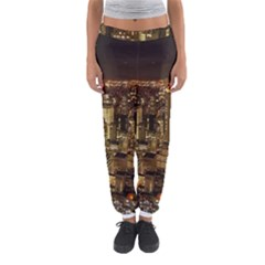 New York City At Night Future City Night Women s Jogger Sweatpants