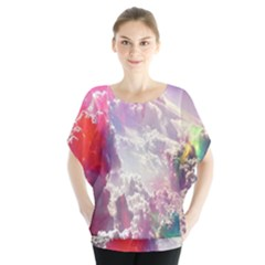 Clouds Multicolor Fantasy Art Skies Blouse