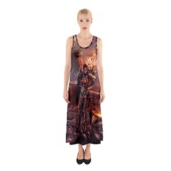 Fantasy Art Fire Heroes Heroes Of Might And Magic Heroes Of Might And Magic Vi Knights Magic Repost Sleeveless Maxi Dress