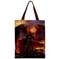 Fantasy Art Fire Heroes Heroes Of Might And Magic Heroes Of Might And Magic Vi Knights Magic Repost Zipper Classic Tote Bag