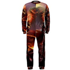 Fantasy Art Fire Heroes Heroes Of Might And Magic Heroes Of Might And Magic Vi Knights Magic Repost OnePiece Jumpsuit (Men)