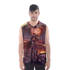 Fantasy Art Fire Heroes Heroes Of Might And Magic Heroes Of Might And Magic Vi Knights Magic Repost Men s Basketball Tank Top