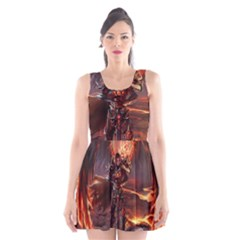 Fantasy Art Fire Heroes Heroes Of Might And Magic Heroes Of Might And Magic Vi Knights Magic Repost Scoop Neck Skater Dress