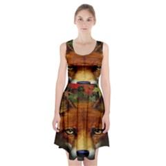 Fox Racerback Midi Dress