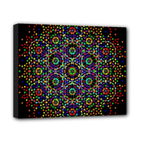 The Flower Of Life Canvas 10  x 8