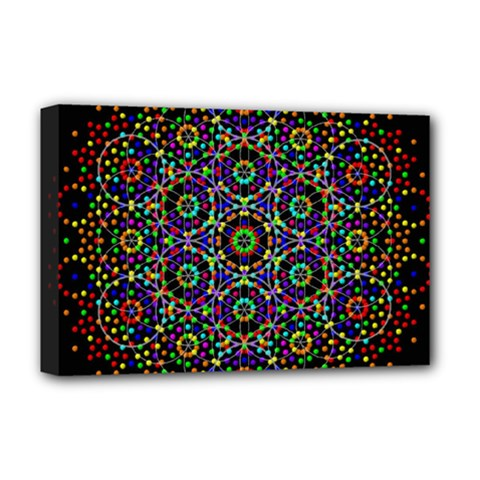 The Flower Of Life Deluxe Canvas 18  x 12