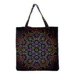 The Flower Of Life Grocery Tote Bag