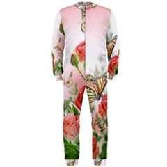 Flora Butterfly Roses OnePiece Jumpsuit (Men)