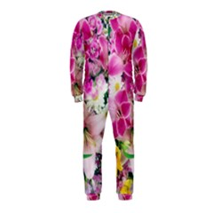 Colorful Flowers Patterns OnePiece Jumpsuit (Kids)