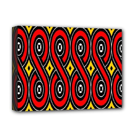 Toraja Traditional Art Pattern Deluxe Canvas 16  x 12