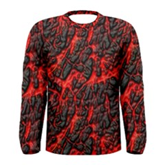 Volcanic Textures(1) Men s Long Sleeve Tee