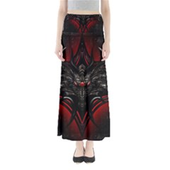 Black Dragon Grunge Maxi Skirts