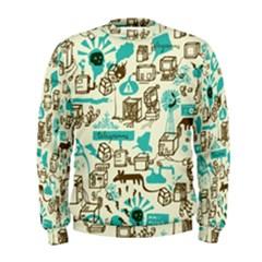 Telegramme Men s Sweatshirt