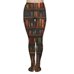 Books Library Women s Tights