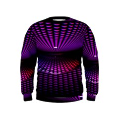 Glass Ball Texture Abstract Kids  Sweatshirt