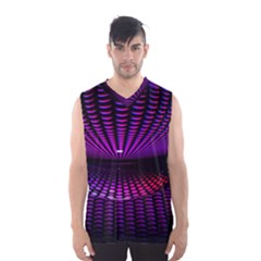 Glass Ball Texture Abstract Men s Basketball Tank Top