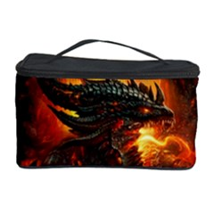 Dragon Legend Art Fire Digital Fantasy Cosmetic Storage Case