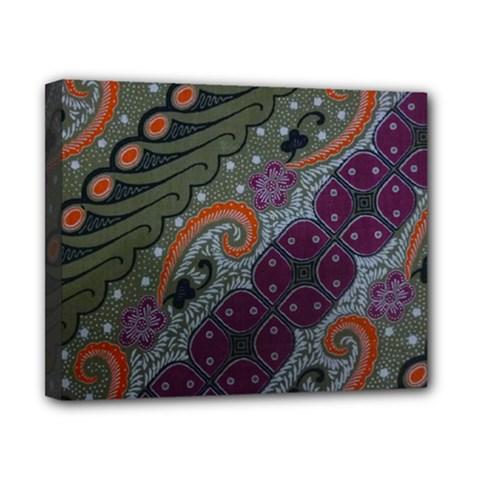 Batik Art Pattern  Canvas 10  x 8