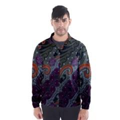 Batik Art Pattern  Wind Breaker (Men)