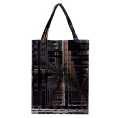 Black technology Circuit Board Electronic Computer Classic Tote Bag
