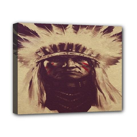 Indian Apache Canvas 10  x 8