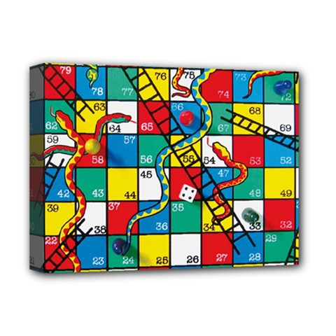 Snakes And Ladders Deluxe Canvas 16  x 12