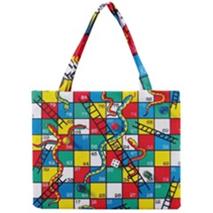 Snakes And Ladders Mini Tote Bag