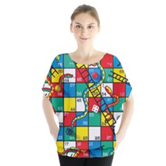Snakes And Ladders Blouse