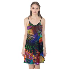 Colored Fractal Camis Nightgown