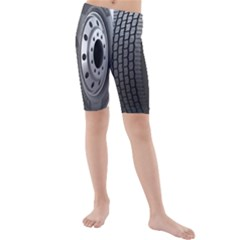 Tire Kids  Mid Length Swim Shorts