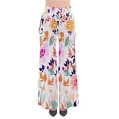 Vector Floral Art Pants