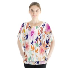Vector Floral Art Blouse