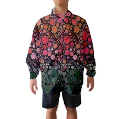 Circle Abstract Wind Breaker (Kids)