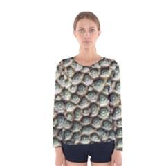 Ocean Pattern Women s Long Sleeve Tee