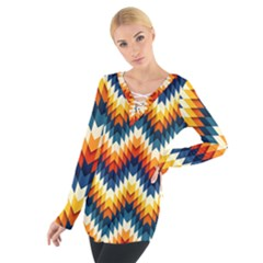 The Amazing Pattern Library Women s Tie Up Tee