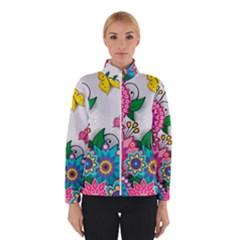 Flowers Pattern Vector Art Winterwear