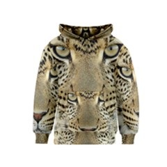 Leopard Face Kids  Pullover Hoodie