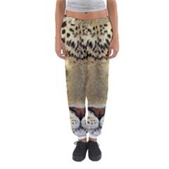 Leopard Face Women s Jogger Sweatpants